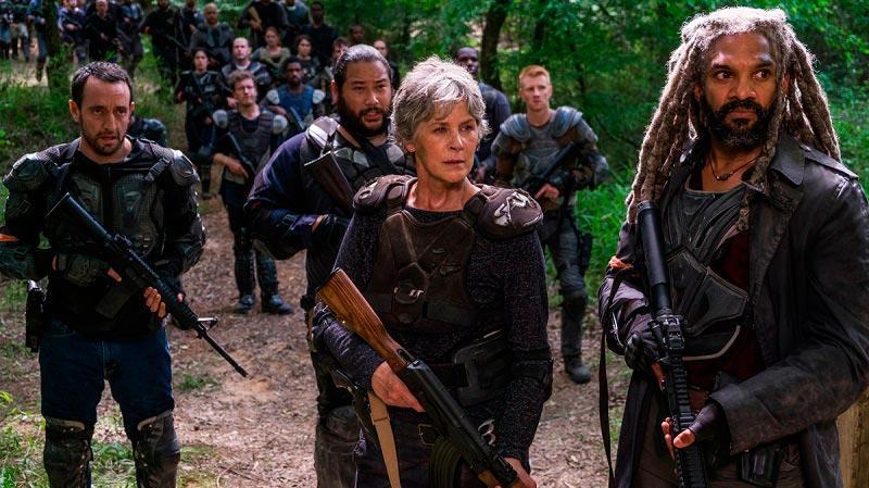 Ходячие мертвецы 10 сезон кадр из сериала