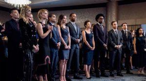 актеры готовятся к показу финального сезона Стрелы