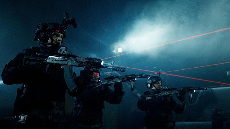 бойцы готовятся к 2 фильму Аванпост