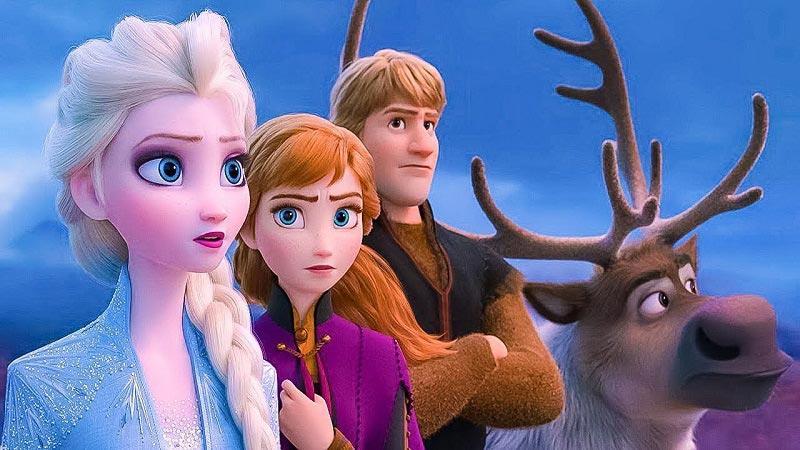 """Отважные друзья готовятся к приключениям в 3 мультфильме """"Холодное сердце"""""""