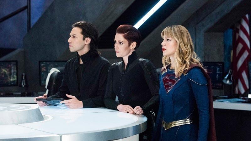 Супергерл и её команда пытаются спасти мир в 8 серии