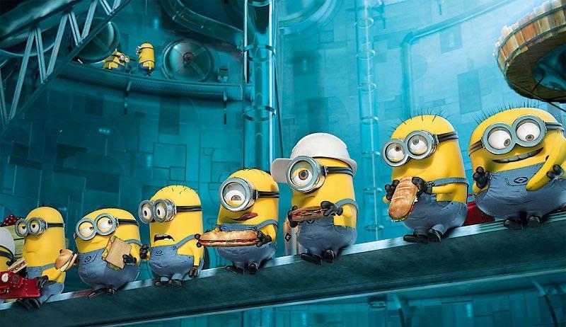 Миньоны ждут дату выхода 2 части мультфильма
