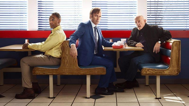 герои вместе с Солом смотрят в 6 сезон