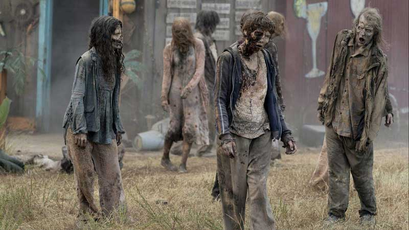 Зомби в шоке от COVID-19